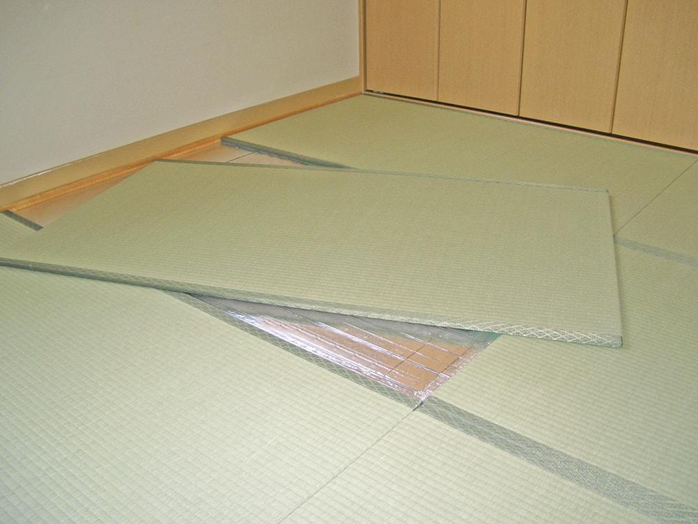 床暖対応薄畳「こもれび」