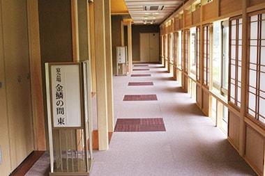 奈良県 ホテル杉の湯様 カーペット面(廊下)