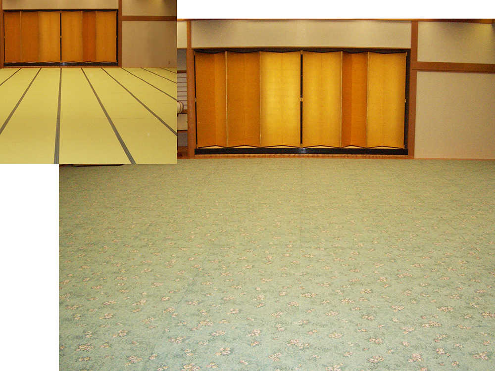 奈良県 ホテル春日様 カーペット面