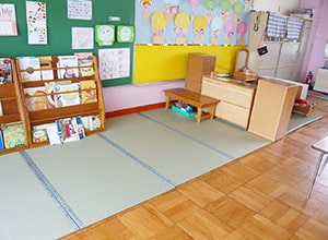 愛知県保育園ウォッシャブル畳「きよらか」(へり付き)