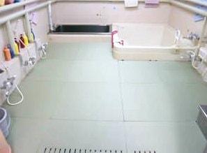 東京都 知的障がい者施設 青梅学園湯上がりたたみ